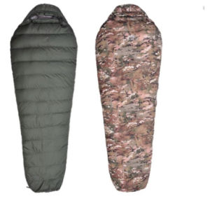 Down Camo Mummy Military Tactical Outdoor Travelling Camping Sports Large Size Sleepping Bag pictures & photos