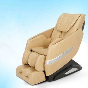 L Shape PU Leather Cover Electric Massage Chair with Music pictures & photos