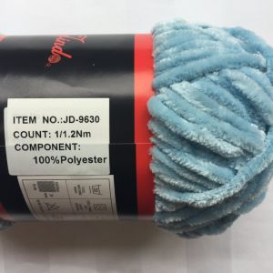 Polyester Chenille Yarn Jd9630 pictures & photos