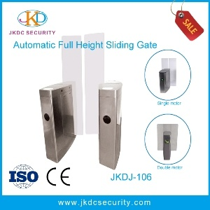 Automatic RFID Reader Optical High Security Full Height Sliding Turnstile pictures & photos