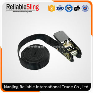 1 Inch Endless Polyester Cargo Lashing Belt with Ratchet pictures & photos