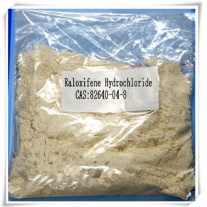 82640-04-8 High Quality Raloxifene Hydrochloride Anti Estrogen Powder Raloxifene HCl pictures & photos