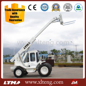 Ltma 3t Telescopic Boom Forklift Price with High Quality pictures & photos