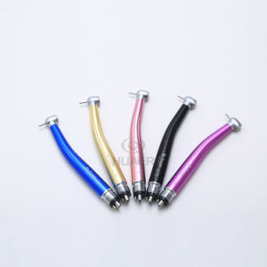 Manufacture Wholesale Midwest 4 Colorful High Speed Dental Turbines Handpiece pictures & photos