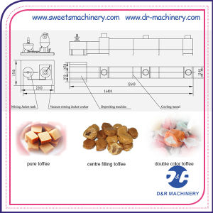 Toffee Sweet Automatic Depositing Line Candy Processing Machine pictures & photos