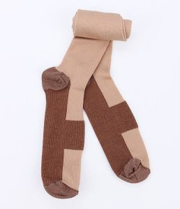 Unisex Anti-Fatigue Compression Socks Foot Pain Relief Soft Miracle Copper Anti Fatigue Magic Socks Support Knee High Stockings pictures & photos