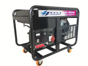 Portable Powerful 7kw Gasoline Generator Made in China pictures & photos