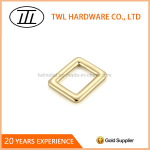 Rectangle Metal Zinc Alloy Gold Ring Buckle pictures & photos