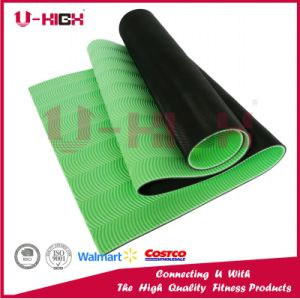 Dual Color XPE Yoga Mat Exercise Equipment pictures & photos