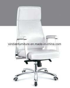 Arm Office Boss Chair with Leather Faced pictures & photos