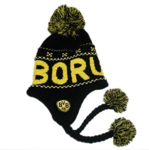 Hot Sale Football Fans Knitted Hat (JRAA025) pictures & photos