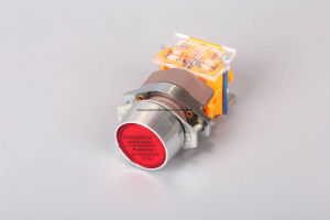 Keyway Push Button Switch with Emergency Stop/Illuminated/Protected pictures & photos