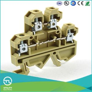 Jut2-4/2 Screw Terminal Block Weidmuller Dk4qv/En Wire Connectors pictures & photos