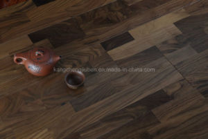 High Quality of The Black Walnut Wood Parquet/Laminate Flooring pictures & photos