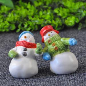 High Quality Snowman Designed Ceramic Pepper & Salt Shaker Set pictures & photos