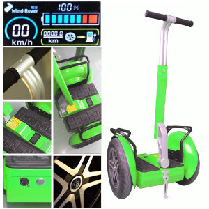 Wind Rover Fat Tires 72V Lithium Battery Balance Motor E Scooter pictures & photos