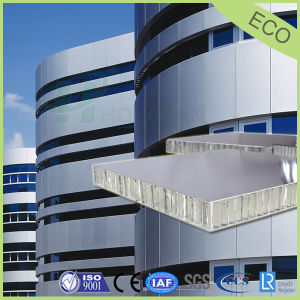 6-30mm Sliver Color Aluminum Honeycomb Panel for Curtain Wall pictures & photos