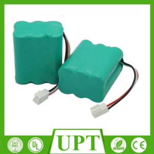 AA 7.2V Ni-CD Rechargeable Battery Pack for Emergency Light pictures & photos