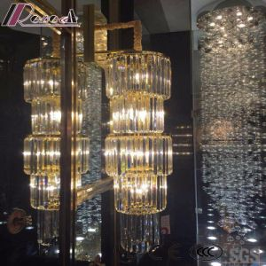 Round Fashion and Modern Crystal pendant Lamp with Hotel pictures & photos