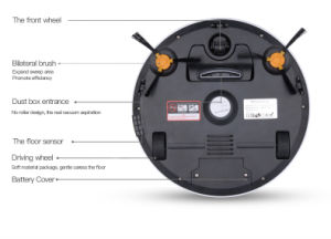 Smart Vacuum Cleaning Robot, Robot Vacuum Cleaner pictures & photos