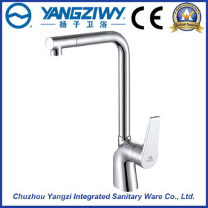 Chrome Plated Waterfall Kitchen Faucet (YZ5211)