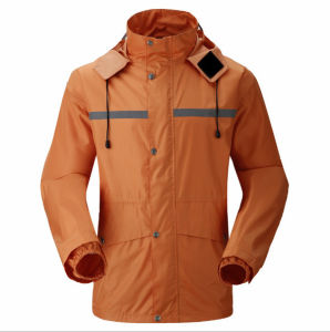 2017 Hot Sale 100% Polyester Waterproof Raincoat for Sale pictures & photos