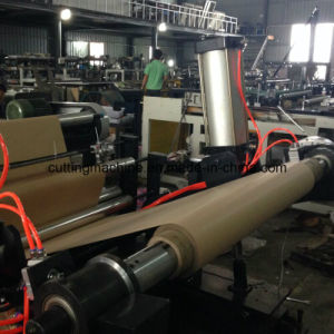 Kraft Paper Cardboard Roll to Sheet Cutting Machine Slitting Machine (DC-HQ) pictures & photos