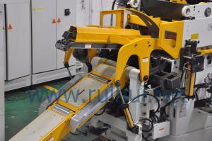 High Quality Double Head Decoiler Nc Servo Straightener Machine (MAC4-800HSL) pictures & photos
