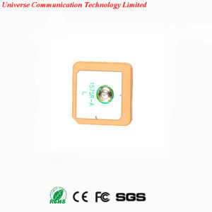 Free Samples 1575.42MHz 3.5dB Passive Built-in Wireless GPS Ceramic Antenna pictures & photos