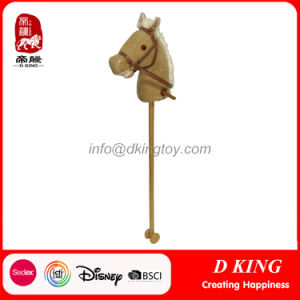 Hobby Stuffed Antique Stick Horse Plush Toy pictures & photos