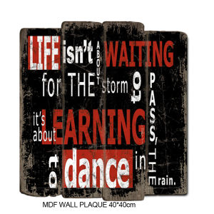 High Quality Antique Wall Wooden Sign Accept OEM pictures & photos