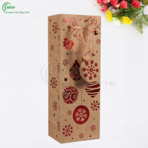 Prefessional Folding Bag Kraft Paper Bags for Gift Packaging Manufacturer (KG-PB084) pictures & photos