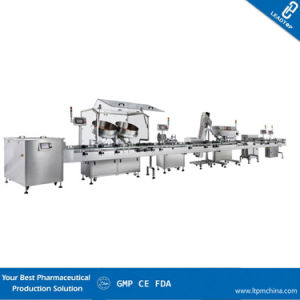 Tablet/Capsule Counting Filling Capping Labeling Production Line, Capsule Filling Machine pictures & photos