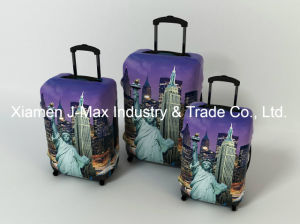 Spandex Travel Luggage Cover Fits 18-32 Inch Luggage, High Elastic, Washable, Comes in Various Printings, Trolley Cover, USA pictures & photos