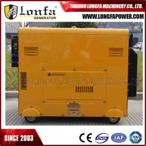 6kVA 6000 Watt 6kw Soundproof Diesel Portable Generator for Home Use pictures & photos