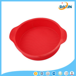 BPA Free 9 Inches DIY Food-Grade Heat Resistant Silicone Cake Mold pictures & photos