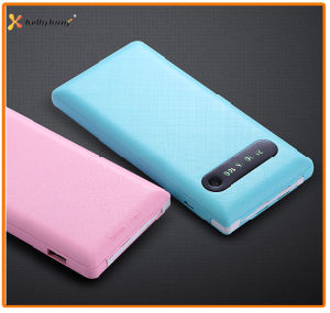 Super Slim 10000mAh Built in Cable Mobile Power Bank pictures & photos