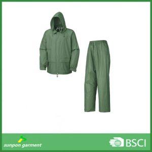 Rain Coat Waterproof/Adults Rain Coat/PVC Rain Coat Rain Suit pictures & photos