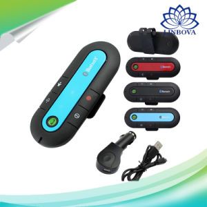 Speakerphone Wireless Mini Bluetooth Handsfree Car Kit Handsfree with Car Charger pictures & photos