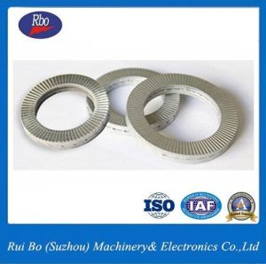 Stainless Steel Carbon Steel DIN25201 Nord Lock Washers Spring Washer Flat Washer pictures & photos