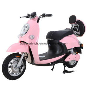 Wholesale Lady 650W Electric Motorcycle to Europe South America pictures & photos