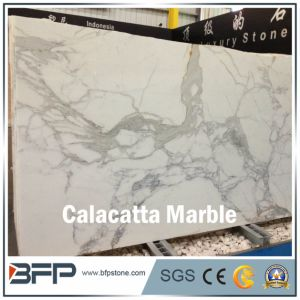 High Eend Calacatta Marble Slab for Bathroom Tile and Countertop pictures & photos