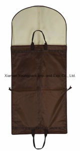 Deluxe Custom Black PEVA Non-Woven Travel Suit Garment Carrier pictures & photos