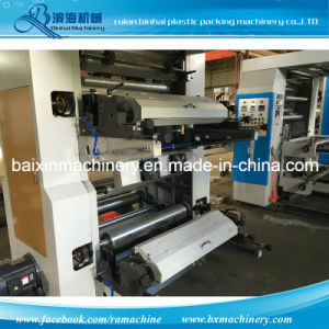 Nonwoven Fabrics Roll Flexo Printing Machine High Speed pictures & photos