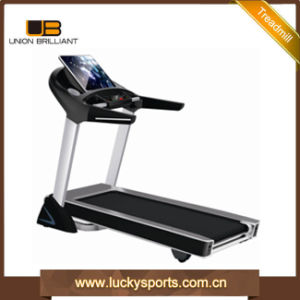2017 New Fitness Electric Running LCD Treadmill pictures & photos