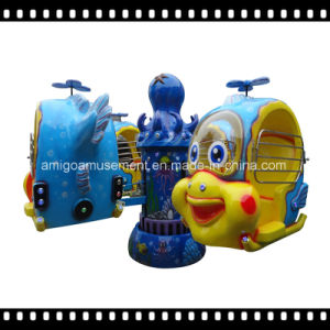 2017 Lifting and Revolving Kiddie Ride Big Eyes Fish Helicopter pictures & photos