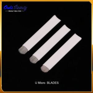 50 PCS Sterilized Manual Nano Stroking Micro Blades U Shape pictures & photos