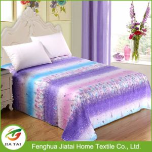 Custom Luxury Quilted Romantic Bed Sheet Size pictures & photos