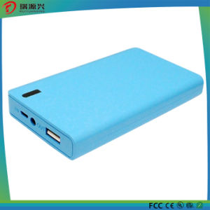 8000mAh Oblong Good Touch Power Bank with LED Light (PB1514) pictures & photos