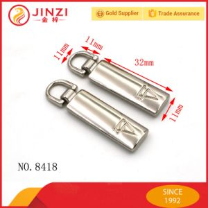 Nickle Free Plating Metal Zipper Puller pictures & photos
